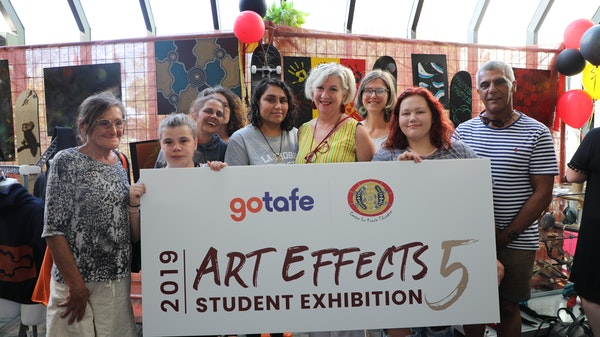 GOTAFE Visual Arts – ArtEffects 5 Exhibition Grand Opening