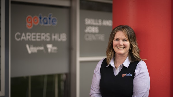 Tanya Cattier from our Skills and Jobs Centre Wangaratta