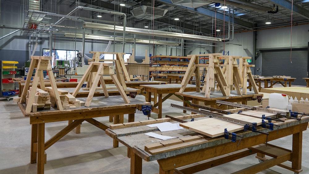 GOTAFE Shepparton Acher St Cabinet Making1