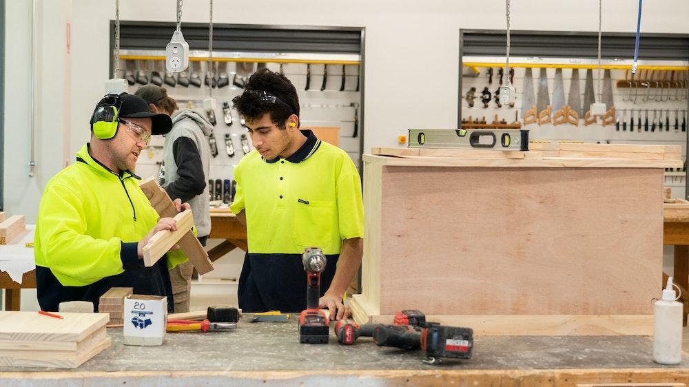 GOTAFE Shepparton Acher St Cabinet Making4