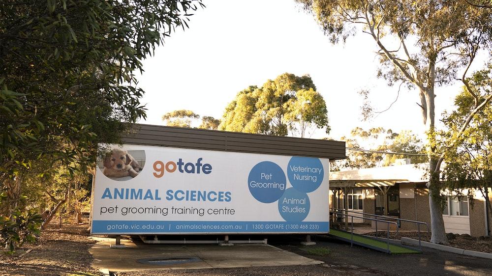 GOTAFE Dog Grooming Sign
