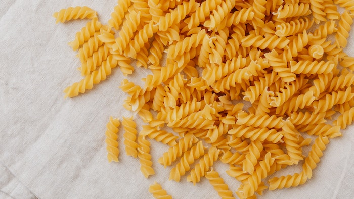 Pasta is a great staple to stock up on