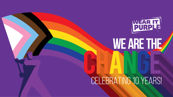 We are the Change: Wear it Purple Day 2020
