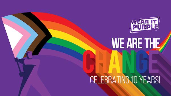 We are the Change: Wear it Purple Day 2020