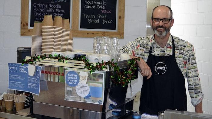 Wangaratta Café supervisor, Eric Bittner