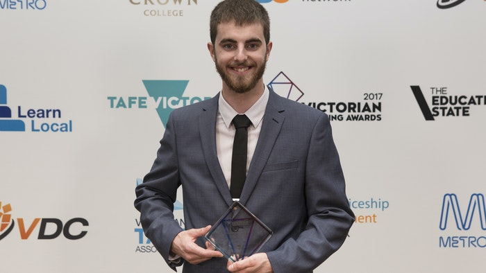 Jeremy Connell, 2017 VTA Apprentice of the Year