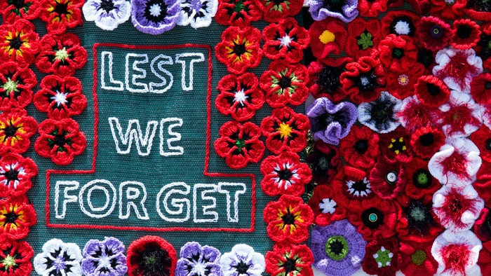 Honouring ANZAC Day, be creative with how you observe the day