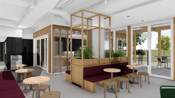 Sepparton Cafe Interior Web