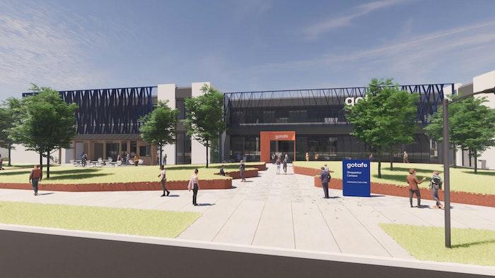 Sheppaton Campus Entrance Web
