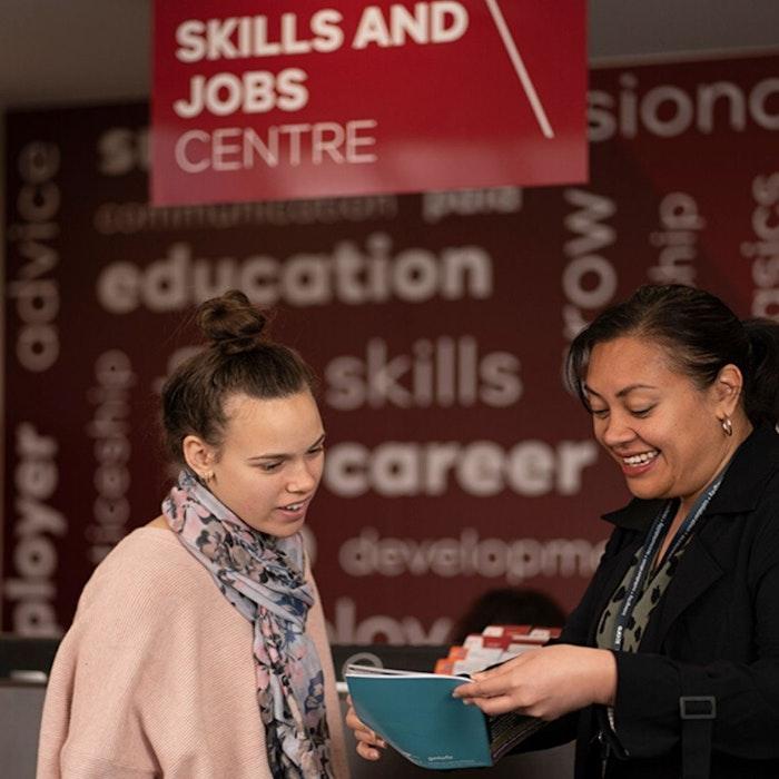 Skills & Jobs staff ready to help