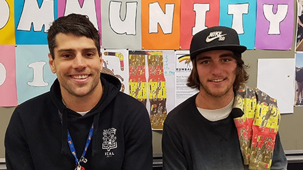 VCAL students get creative with social enterprise projects