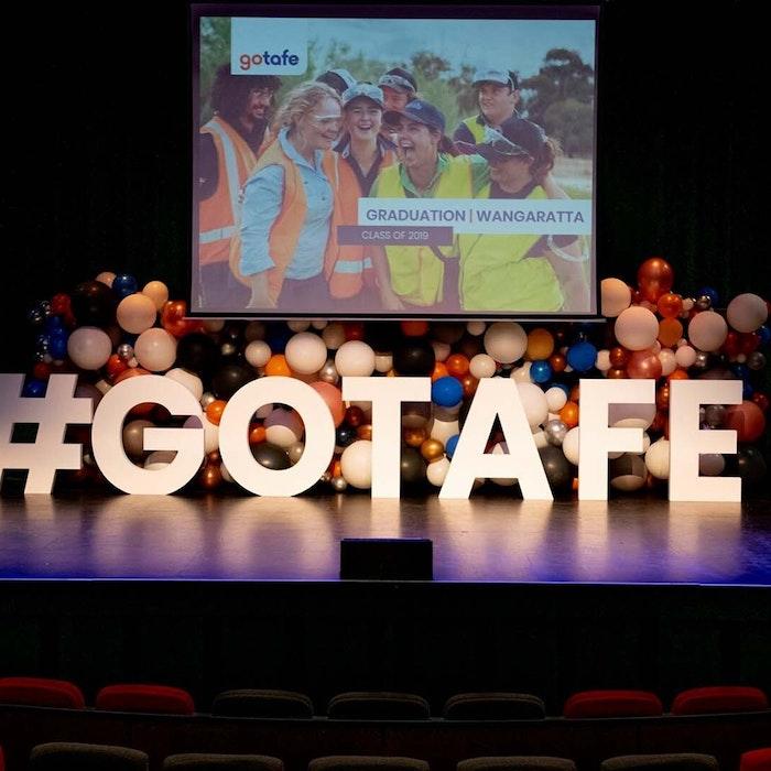 Wangaratta Graduation Ceremony 2020 Stage