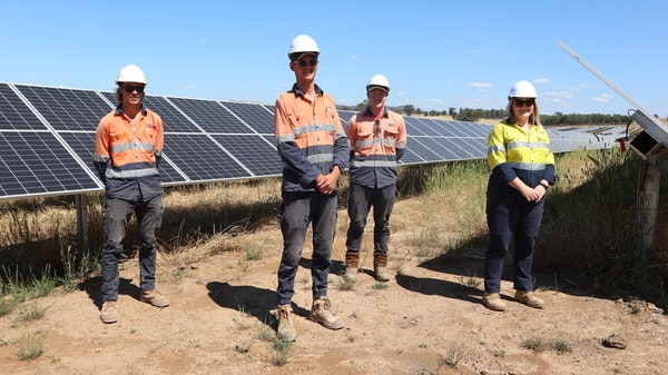 GOTAFE Partners with Winton Solar Farm in Scholarship Program