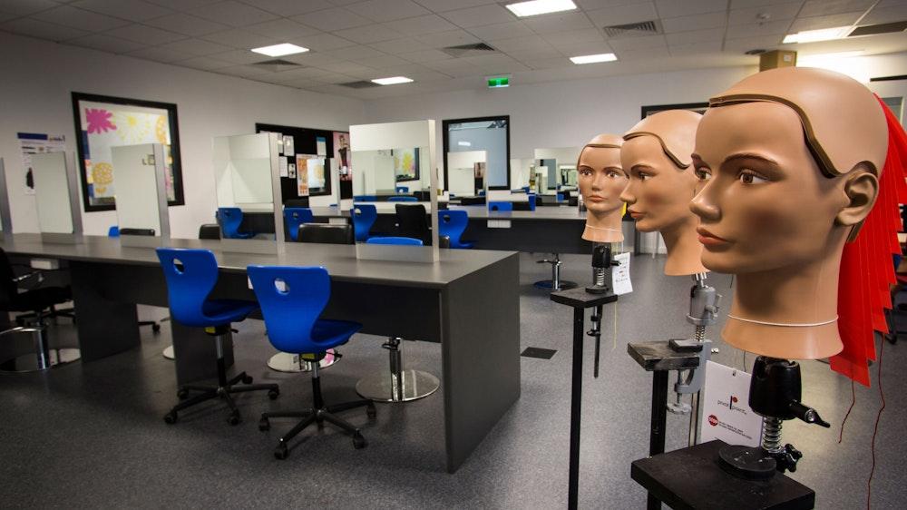 GOTAFE Wangaratta Hairdressing salon